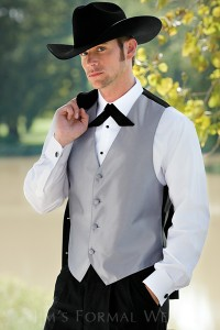 (Jim's Formal Wear even offers Western style tuxes)